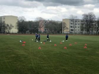 Endlich wieder Training im Nachwuchs